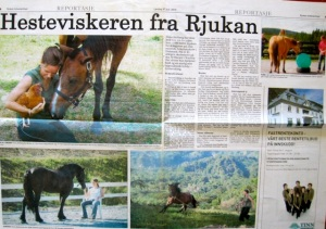 The Horse-whisperer from Rjukan