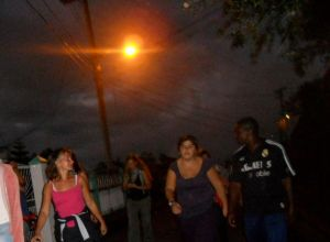 The Moonlight Walk starts in the village of Rose Hall