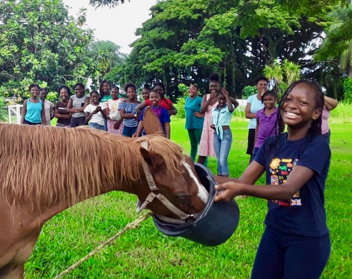 IWN News: SVG's horse school welcomes local students